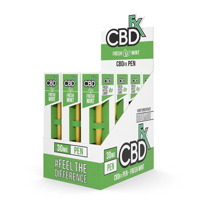 CBDfx-CBD-Pen-Disposable-Fresh-Mint -12pk