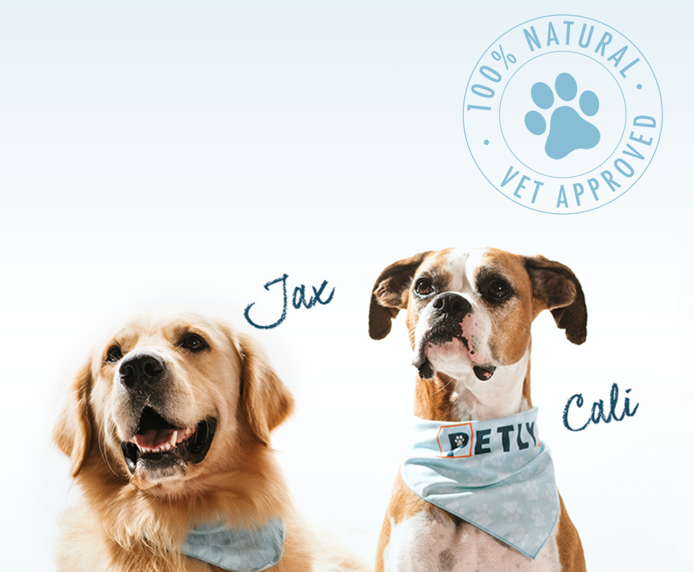 Jax and Cali Ambassadors For PETLYcbd