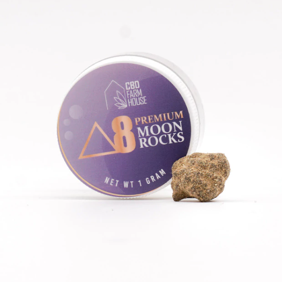 CBD Farm House Delta-8 Moon Rocks