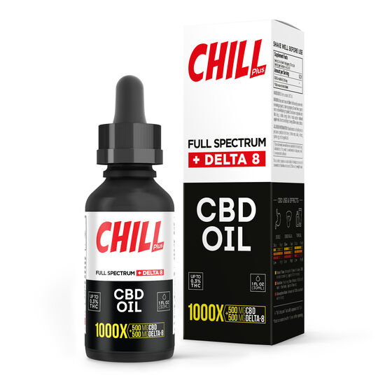 Chill Plus Delta-8 Tincture Drops
